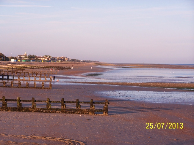 Littlehampton beach @sunset