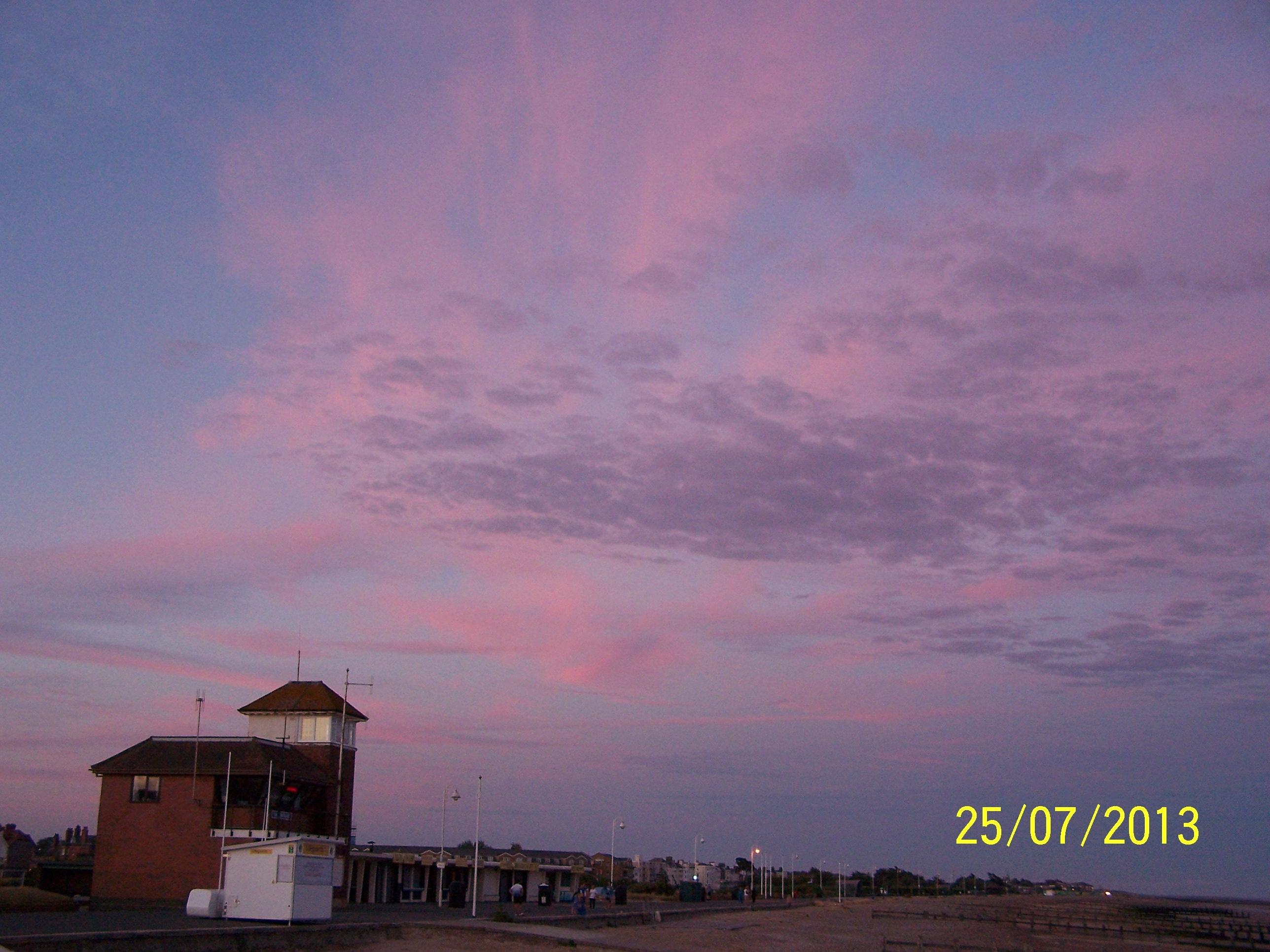 Pink clouds @ L'ton beach5