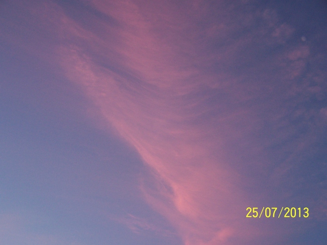 Pink clouds @ L'ton beach7