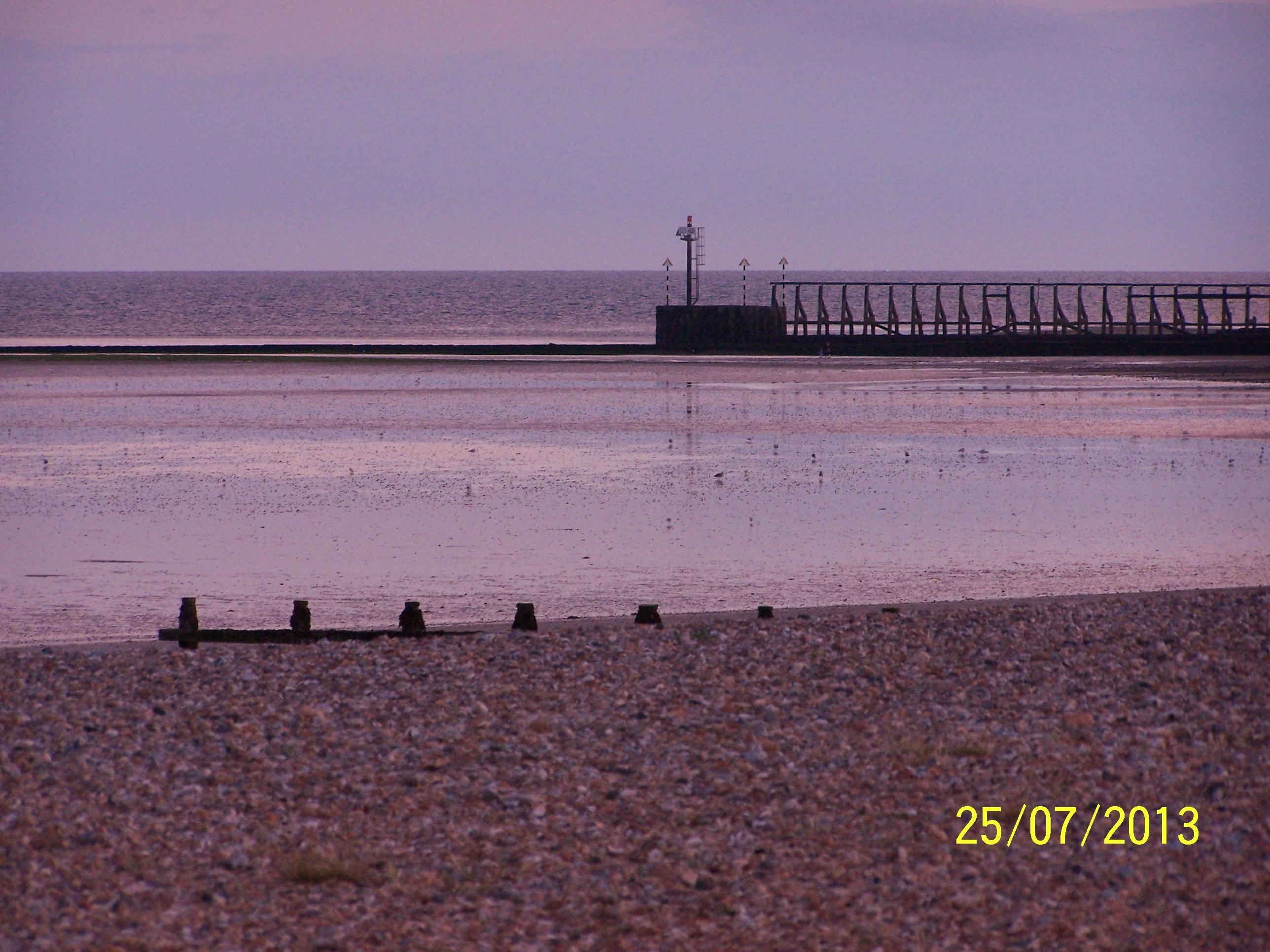 Sunset on L'ton beach6