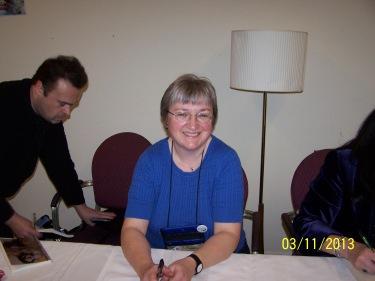 Julie McKenna @ Worldcon 2013