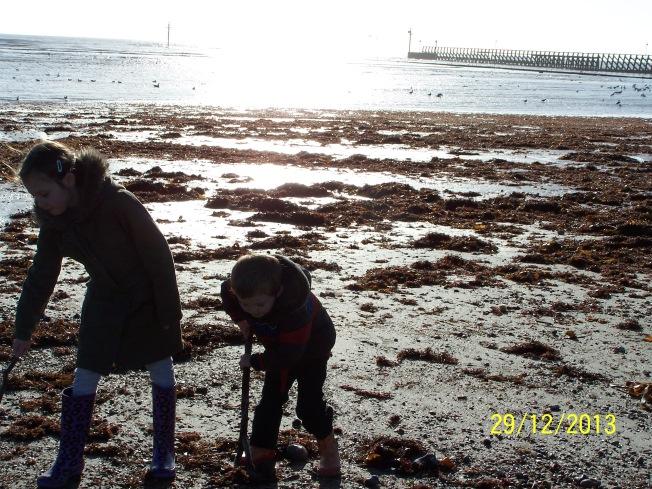 Children on the beach (2)