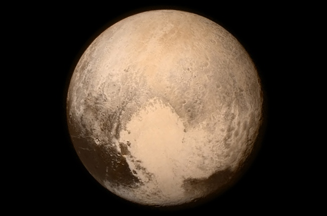 Photo of Pluto released by NASA